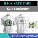 Produk Kaos Sablon Shop Conveni Safe Care