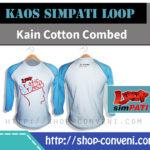 Produk Kaos Sablon Shop Conveni Simpati