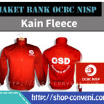 Jaket Bank OCBC NISP - Kain Fleece