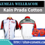 Kemeja Wellracom - Kain Prada Cotton