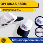 Topi Dinas Esdm - Bahan USA Drill