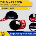 Topi Esdm Provinsi Surabaya - Bahan Laken