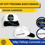Topi Kpp Pratama Banyuwangi - Bahan Gabardin