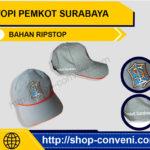 Topi Pemkot Surabaya - Bahan Ripstop
