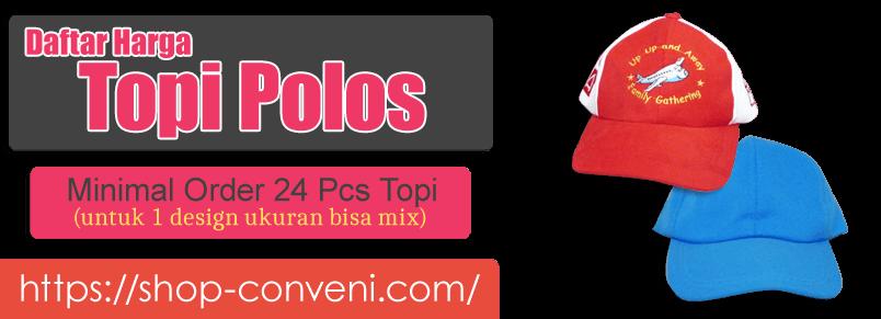 Daftar Harga Topi Bordir dan Polos
